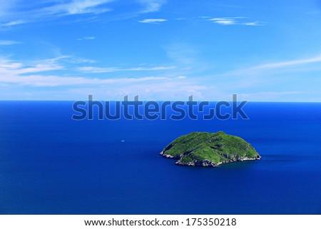 Luam Island Prachuap Khiri Khan Province, Thailand. - stock photo