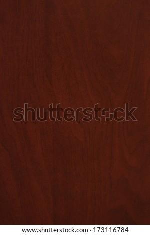 mahogany wood background - stock photo