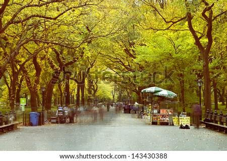 """Mall at Central Park"" - stock photo"