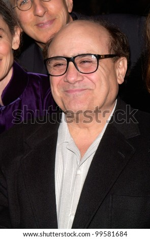"14MAR2000:  Actor/director DANNY DEVITO at the world premiere, in Los Angeles, of ""Erin Brockovich"" which stars Julia Roberts & Albert Finney.  Paul Smith / Featureflash - stock photo"