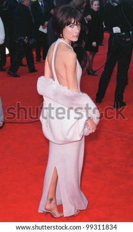 07MAR99: Actress LARA FLYNN BOYLE at the Screen Actors Guild Awards.  Paul Smith / Featureflash