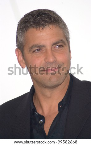13MAY2000:  Actor GEORGE CLOONEY at the Cannes Film Festival to promote his new movie O Brother Where Art Thou.  Paul Smith / Featureflash - stock photo