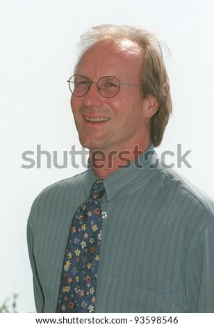 "14MAY98:  Actor WILLIAM HURT at the Cannes Film Festival to promote his movie, ""Dark City."" - stock photo"