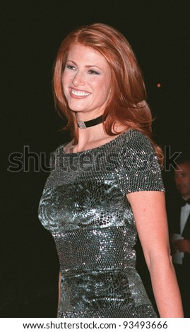 20MAY99: Actress/model ANGIE EVERHART at the 6th annual Cinema Against AIDS Gala in Cannes to benefit the American Foundation for AIDS Research (AmFAR).  Paul Smith / Featureflash
