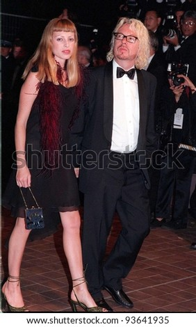 "15MAY98:  Eurythmics star DAVE STEWART & girlfriend at premiere of ""Fear & Loathing in Las Vegas"" at the Cannes Film Festival."