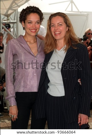15MAY97:  GRETA SCACCHI & CARMEN CHAPLIN at the 1997 Cannes Film Festival.