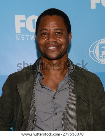 11 May 2015 - New York, New York- Cuba Gooding Jr. FOX 2015 Upfront Party at Wollman Rink.  - stock photo