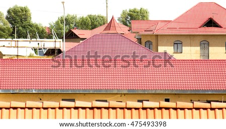 Metal roof profile