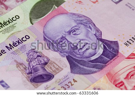 Mexican One thousand peso bill with Miguel Hidalgos face on it. Father of the independence of 1810.