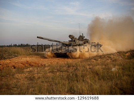military weapons - stock photo