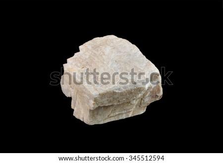 Mineral  Baryte (barite) - stock photo