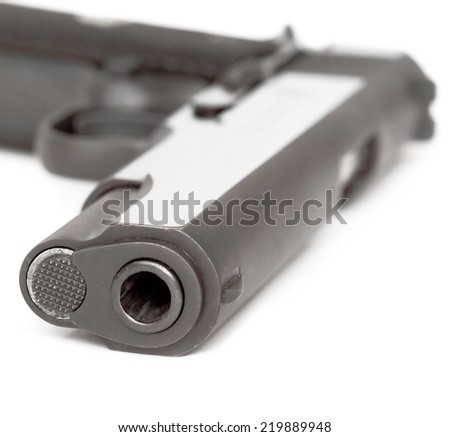 9 mm pistol and cartridges