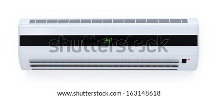 Modern Air Conditioner - stock photo