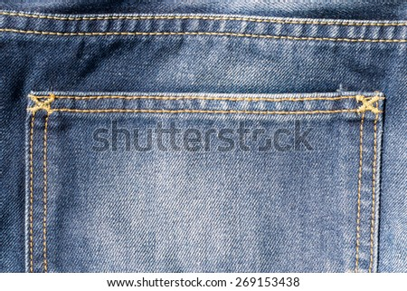 modern jeans backgrounds - stock photo