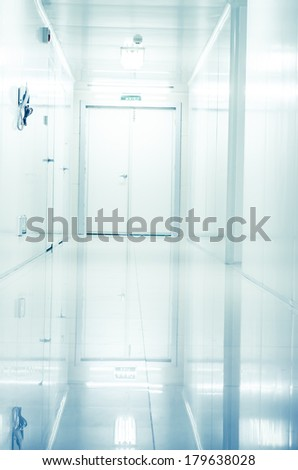 modern laboratory,abstract  - stock photo