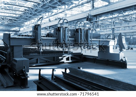 modern workshop - stock photo