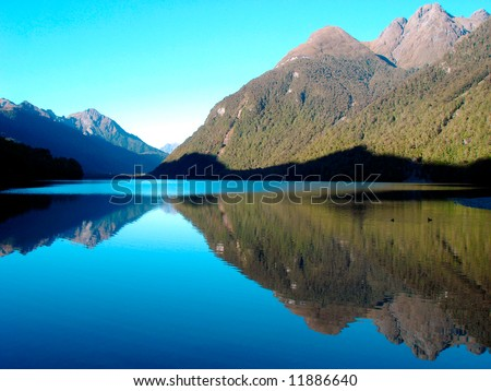 Morning Mirror - stock photo