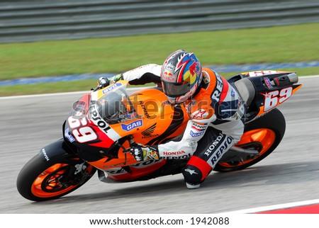 2006 MotoGP Sepang F1 International Circuit Malaysia - Nicky Hayden - stock photo