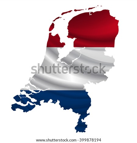 Netherlands?Flag map icon