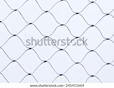Netting against the sky  - stock photo