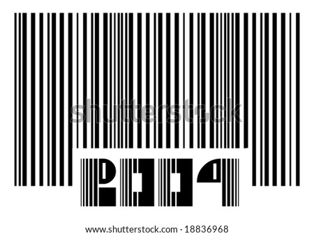 2009 new year Barcode