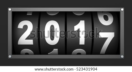2017 New year countdown timer