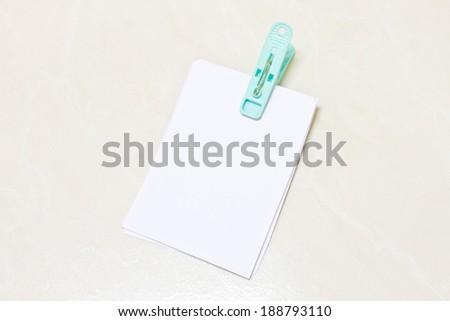 notes - stock photo