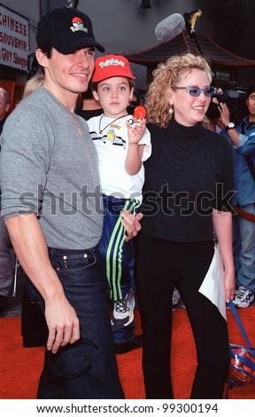 06NOV99  Actor ANTONIO SABATO JR   amp  son  amp  wife actress VIRGINIA MADSEN    Antonio Sabato Jr Kids