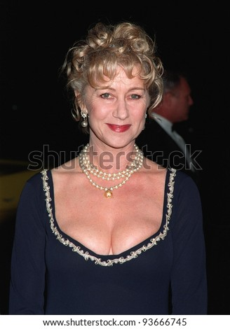 15NOV97:  Actress HELEN MIRREN at the CableACE Awards in Los Angeles.