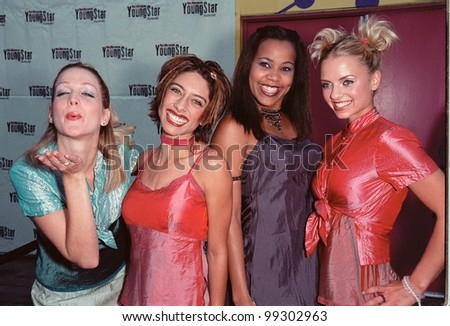 07NOV99: Pop group NOBODY'S ANGEL at the Hollywood Reporter Youngstar Awards at Universal Studios, Hollywood.       Paul Smith / Featureflash