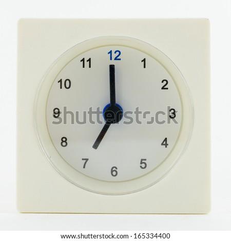 7 O'clock - stock photo