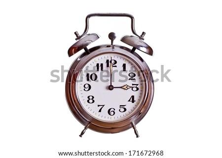 3 o'clock - stock photo