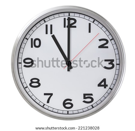 11 o'clock - stock photo