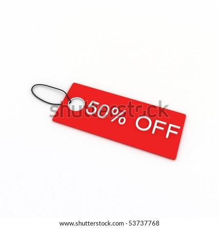 50% OFF - stock photo