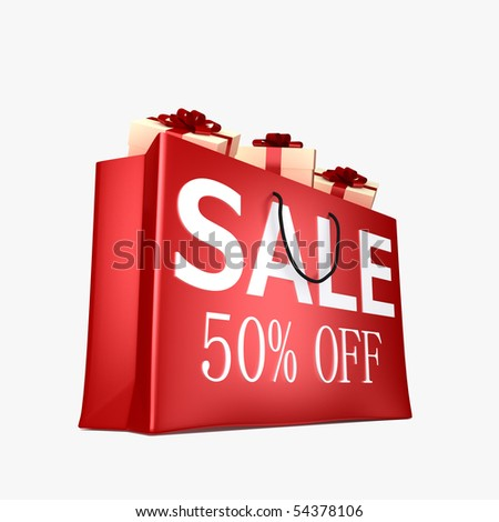 50% OFF SHOPPING BAG