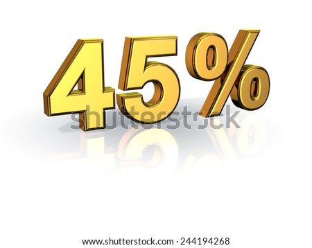 45% Off Special Offer GOLD