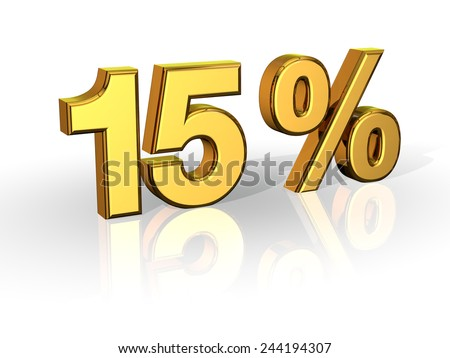 15% Off Special Offer GOLD