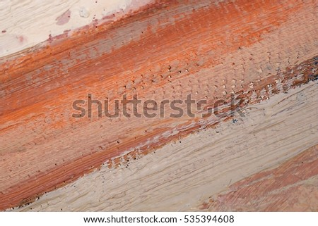 Oil Painting closeup texture background with  orange purple gray white colors vivid colorful creative detailed vibrant brush strokes