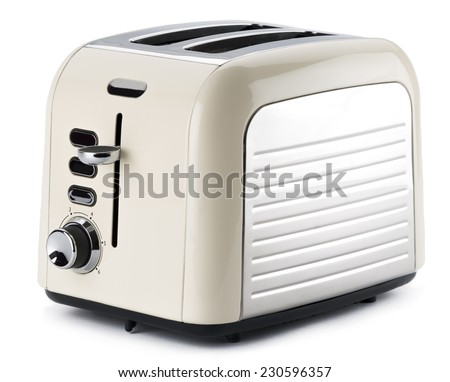 Old Fashioned Kettle And Toaster