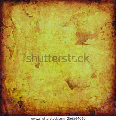 old paper with some stains and scratches - stock photo