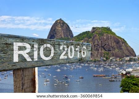 2016 Olympic Games, Rio de Janeiro - stock photo