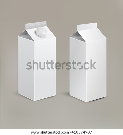 packaging isolated on a beige background