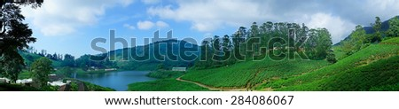 panoramic landscape,