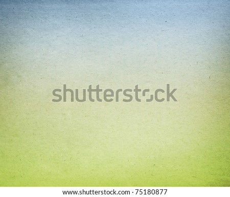 paper background with a blue  and green color - stock photo