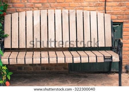 park bench  - stock photo