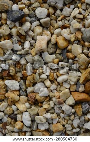 pebble stone in background - stock photo