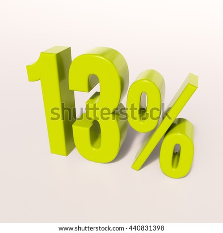 13 Percent Discount 3d Sign on White Background, Special Offer 13% Discount Tag, Sale Up to 13 Percent Off, Sale symbol, Special Offer Label, Sticker, Tag, Banner, Advertising, Badge, Emblem, Web Icon