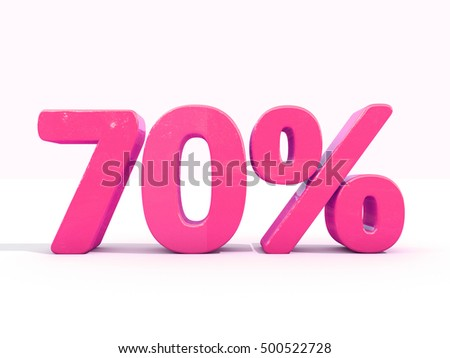 70 Percent Discount 3d Sign on White Background, Special Offer 70% Discount Tag, Sale Up to 70 Percent Off, Sale Symbol, Special Offer Label, Sticker, Tag, Banner, Advertising, Badge, Emblem, Web Icon