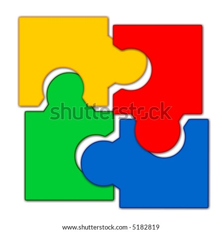 4 Pieces Of Puzzle
