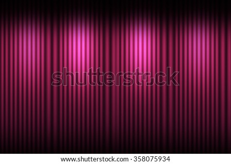 Pink curtain stage background